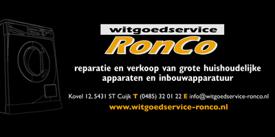 Ronco witgoedservice